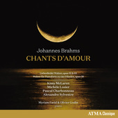 Album artwork for Brahms: Chants d'amour
