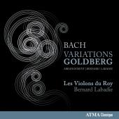Album artwork for Bach: Goldberg Variations Arrangement / Les Violon