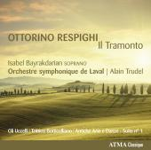 Album artwork for Respighi: Il Tramonto / Bayrakdarian, Trudel