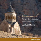 Album artwork for Shoujounian: String Quartets Nos. 3-6 - Noravank