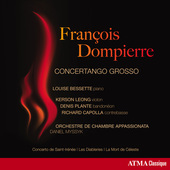 Album artwork for François Dompierre: Concertango Grosso