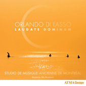 Album artwork for Orlando di Lasso: Laudate Dominum / SMAM
