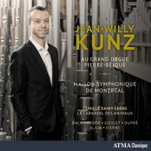 Album artwork for Au grand orgue Pierre-béique / Kunz