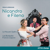 Album artwork for Lorenzani: Nicandro e Fileno