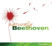 Album artwork for Naturally Beethoven (Montreal Winds, David DQ Lee)