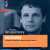 Album artwork for MILESTONES - 6 CELLO CONCERTOS SPANNING 200 YEARS