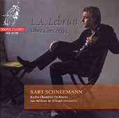 Album artwork for Lebrun: Oboe Concertos (Schneemann)