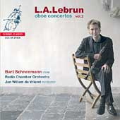 Album artwork for Lebrun: Oboe Concertos Vol. 2 (Schneemann)