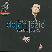 Album artwork for D. Scarlatti, Bartok: Piano Music / Lazic
