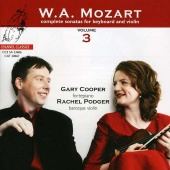 Album artwork for MOZART: Sonatas for Keyboard & Violin 3 / Podger