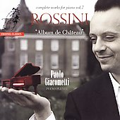 Album artwork for ROSSINI - ALBUM DE CHATEAU: COMPLETE WORKS FOR PIA