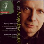 Album artwork for Pieter Wispelwey: Shostakovich & Britten