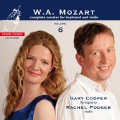 Album artwork for Mozart: Violin Sonatas Vol. 6, K 376, 296, 27, 377
