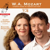 Album artwork for Mozart: Sonatas for Keyboard and Violin Vol. 7 & 8