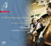 Album artwork for Telemann: Ouverture & Concerti / Holland Baroque