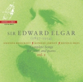 Album artwork for Elgar: Songs for Voice & Piano, vol. 2