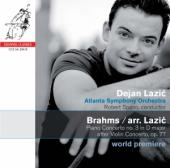Album artwork for Brahms: Piano Concerto no. 3 after Violin Concerto
