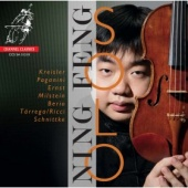 Album artwork for Ning Feng: Solo Violin