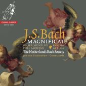 Album artwork for Bach: Magnificat / Van Veldhoven