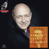 Album artwork for BRAHMS. Symphony No.2. Budapest Festival/Fischer (