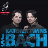 Album artwork for BACH. Suites BWV816, 808 & 996. Katona Twins (SACD