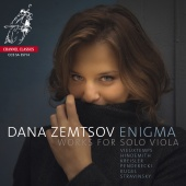 Album artwork for Enigma - Works for Solo Viola. Zemtsov