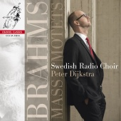 Album artwork for BRAHMS. Mass & Motets. Swedish Radio Choir/Dijkstr