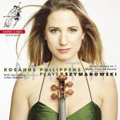 Album artwork for SZYMANOWSKI. Violin Concerto. Philippens/Quentin/N