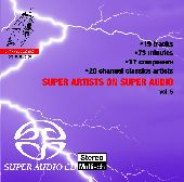 Album artwork for super artists on super audio