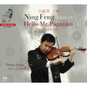 Album artwork for NING FENG: HELLO MR. PAGANINI