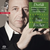 Album artwork for Dvorak: Symphony 8 & 9 / Ivan Fischer