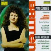 Album artwork for Britten: Piano Concerto, Saxton / MacGregor