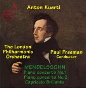 Album artwork for Mendelssohn: Piano Concertos Nos. 1 & 2 (Kuerti)