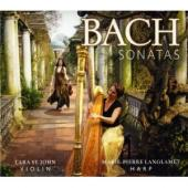 Album artwork for Bach: Violin Sonatas / St. John
