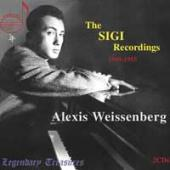 Album artwork for Alexis Weissenberg: Sigi Recordings