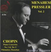 Album artwork for PRESSLER PLAYS CHOPIN VOL. 2