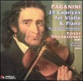 Album artwork for Paganini: 24 Caprices (arr. Schumann)