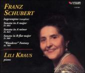 Album artwork for Schubert: Impromptus, Sonatas / Kraus
