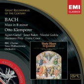 Album artwork for Bach: Mass in B Minor (Klemperer)