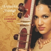 Album artwork for Anoushka Shankar : LIVE AT CARNEGIE HALL
