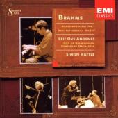 Album artwork for BRAHMS: PIANO CONCERTO NO. 1