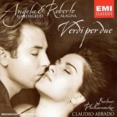 Album artwork for Verdi per due / Angela Gheorghiu, Roberto Algna