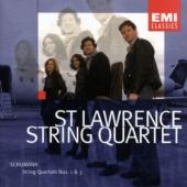 Album artwork for Schumann: String Quartets 1 & 3 / St. Lawrence Qua