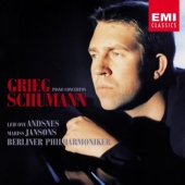 Album artwork for Grieg, Schumann: Piano Concertos / Andsnes, Janson