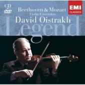 Album artwork for Beethoven, Mozart: Concertos (Oistrakh)