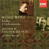 Album artwork for LIEDER & ORCHESTRAL WORKS