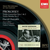 Album artwork for Prokofiev: Violin Concertos 1 & 2 / Oistrakh