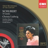 Album artwork for SCHUBERT - 15 LIEDER  (Ludwig)
