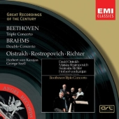 Album artwork for Beethoven: Triple Concerto; Brahms /Richter, Oistr