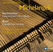 Album artwork for Rachmaninov / Ravel: PIANO CONCERTOS / Michelangel